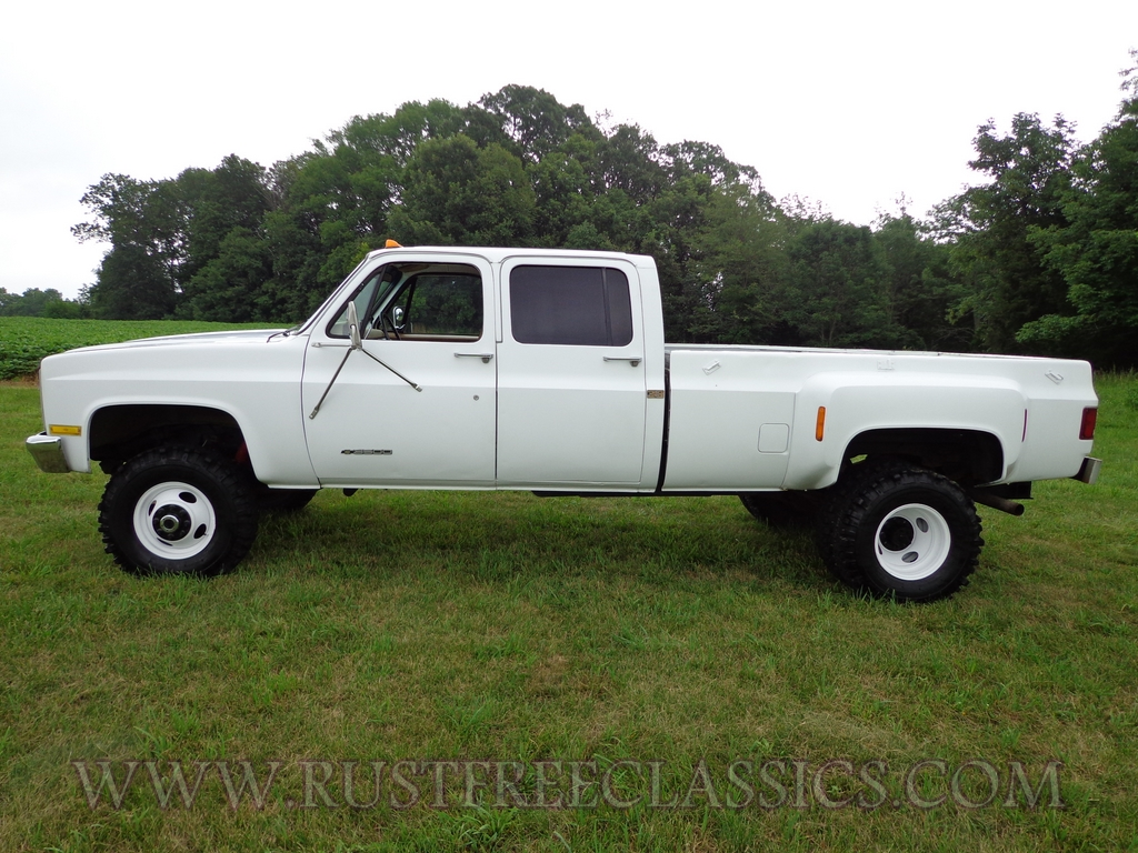 1990 90 Chevrolet Chevy V30 K30 1 one ton 4x4 Four Wheel Drive Crew ...